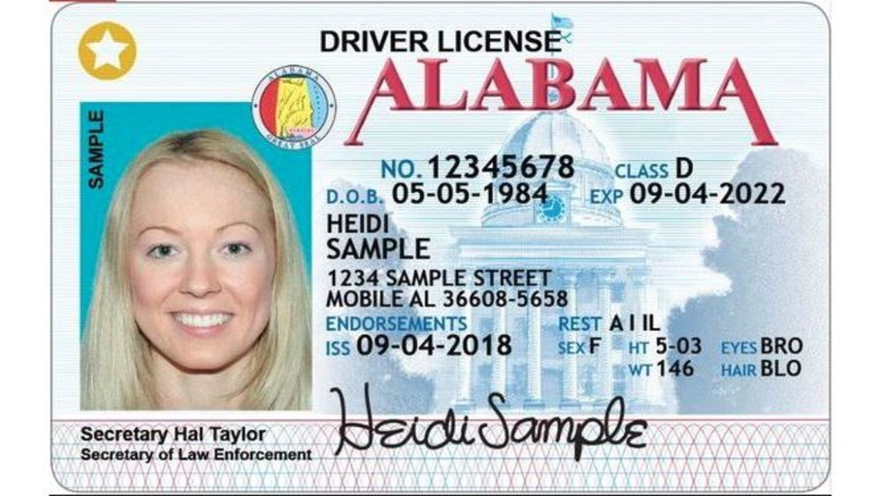 what is 5 dd on drivers license