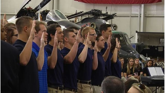 Community-wide Oath of Enlistment ceremony to take place at