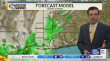 Scattered thunderstorms today and tomorrow