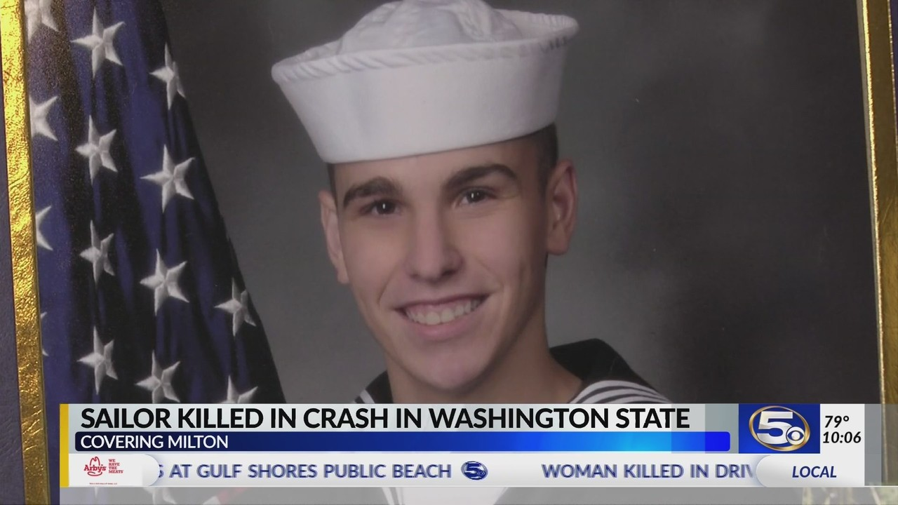 Navy sailor from Milton dies in motorcycle crash